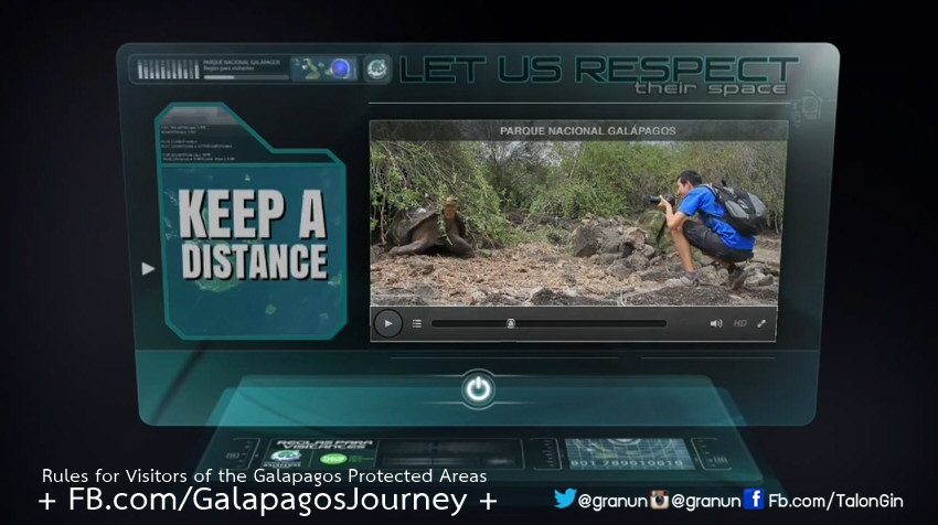 Rules for Visitors of the Galapagos Protected Areas