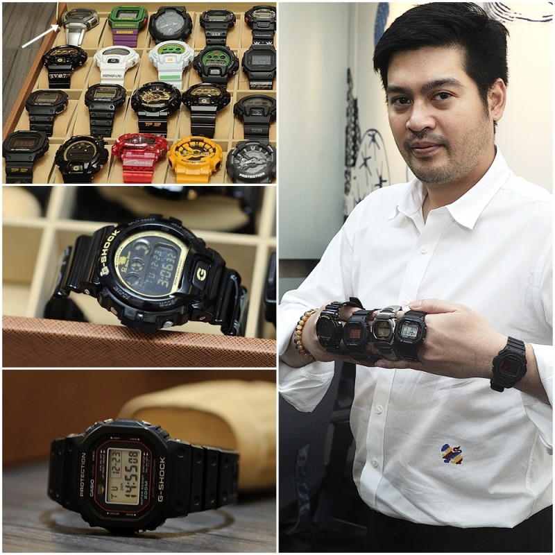 G Shock Collector