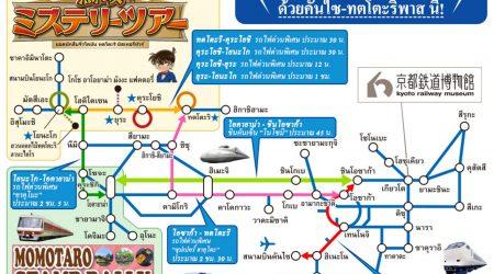 JR-WEST Detective Conan TOTTORI Rail-Pass
